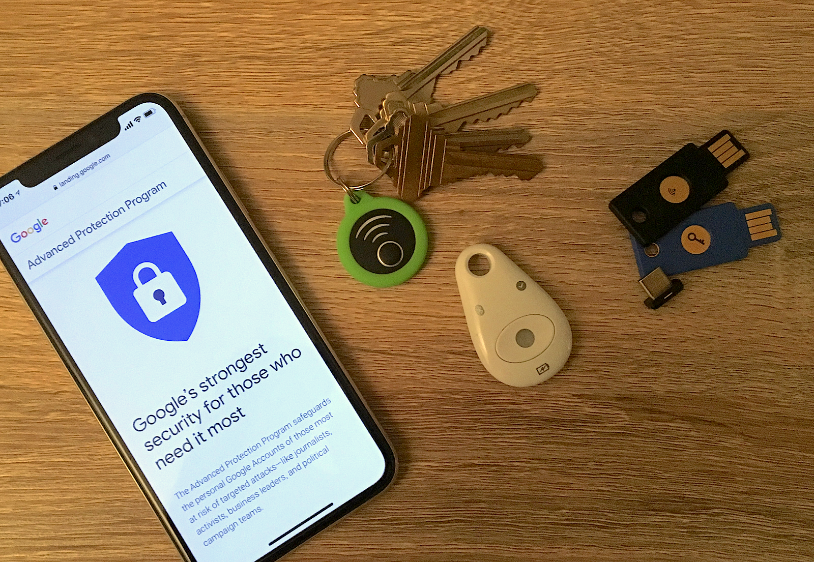 Google's Advanced Protection Program with iPhone and iPad
