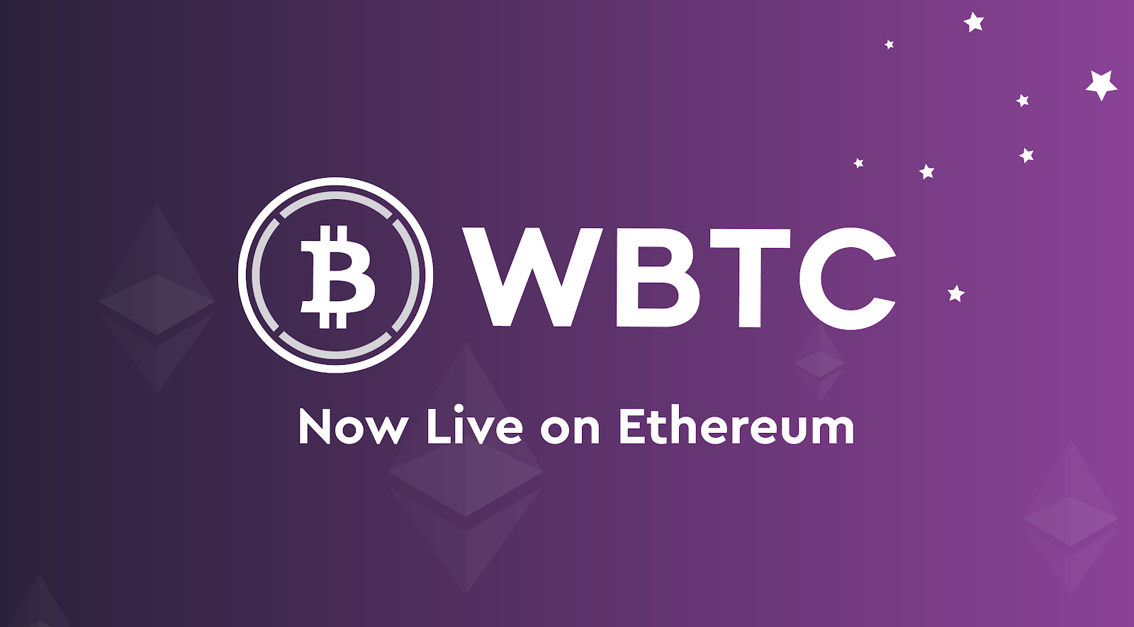 WBTC Is Now Live On Ethereum. We're pleased to share that WBTC… | by Kyber  Network | Kyber Network