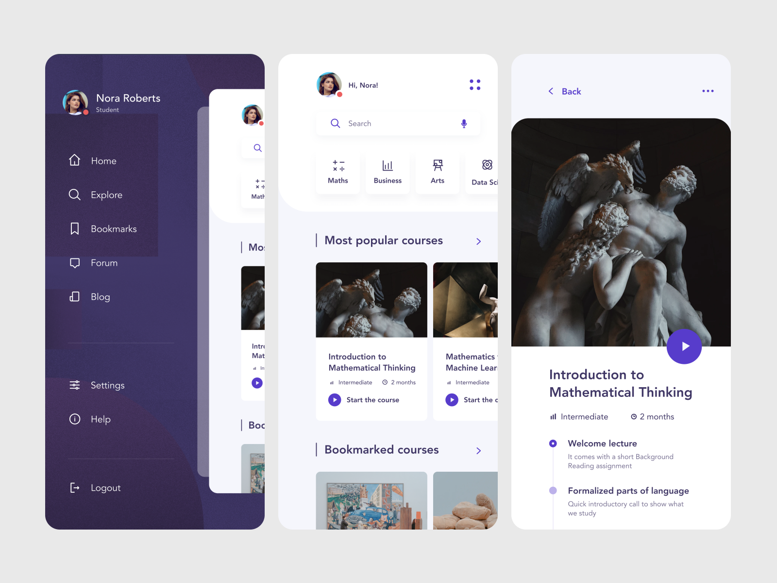 Top Ui Ux Design Trends For Mobile Apps 2020 By Dana Kachan Muzli Design Inspiration