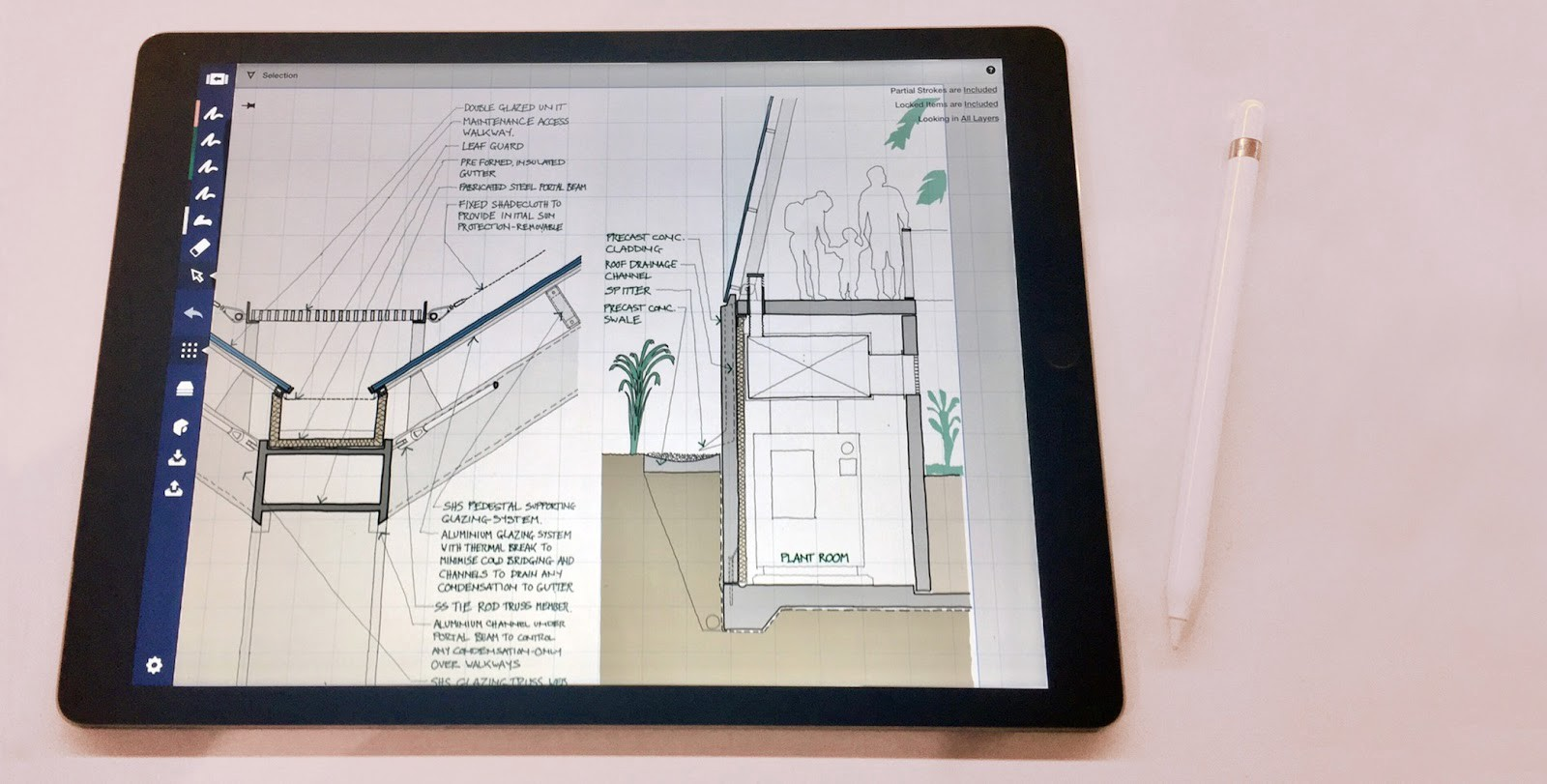 The Design Life Of A Paperless Architect By Concepts App Medium