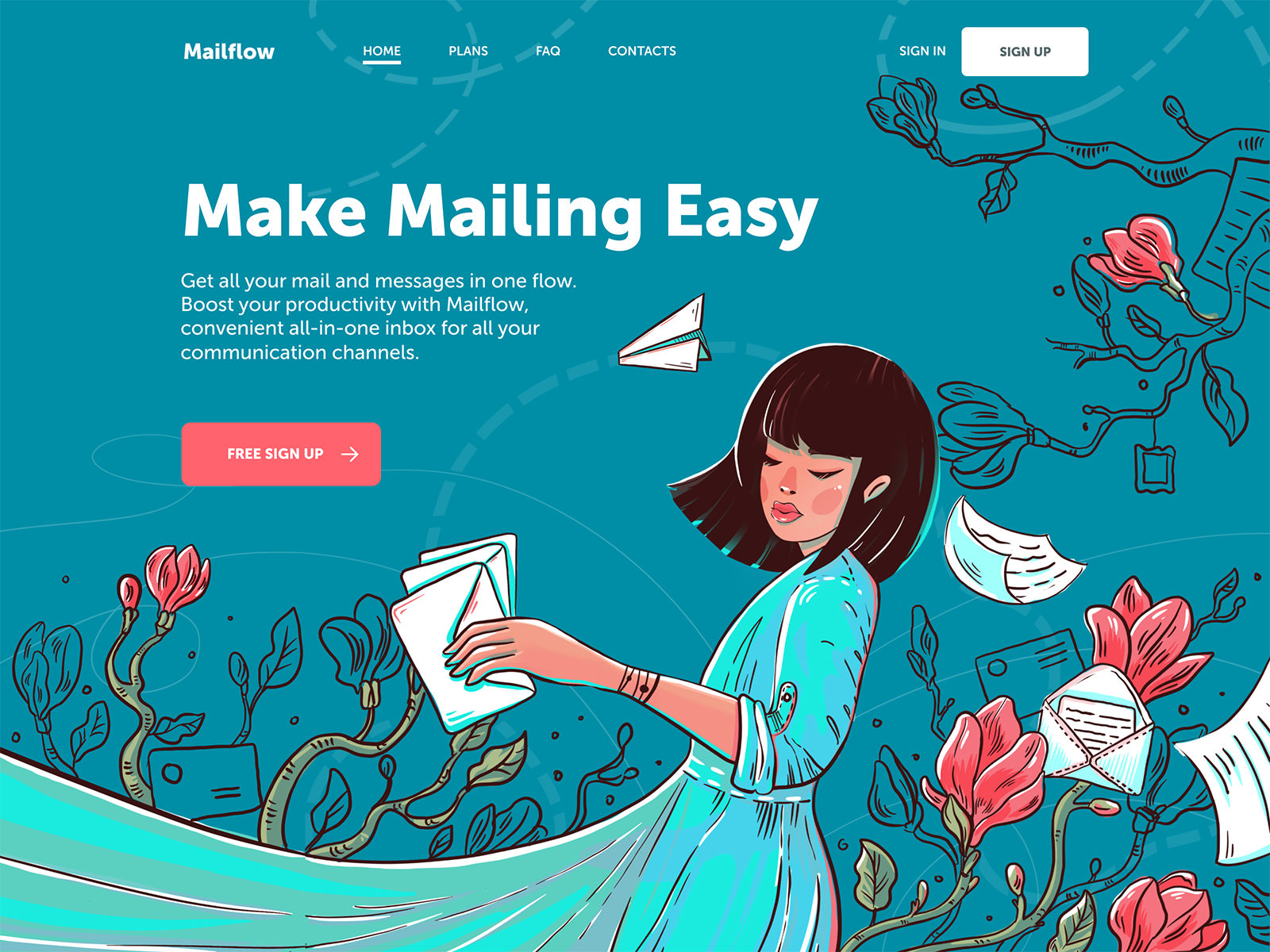 Web Design Inspiration 20 Examples Of Creative Landing Pages By Tubik Studio Ux Planet