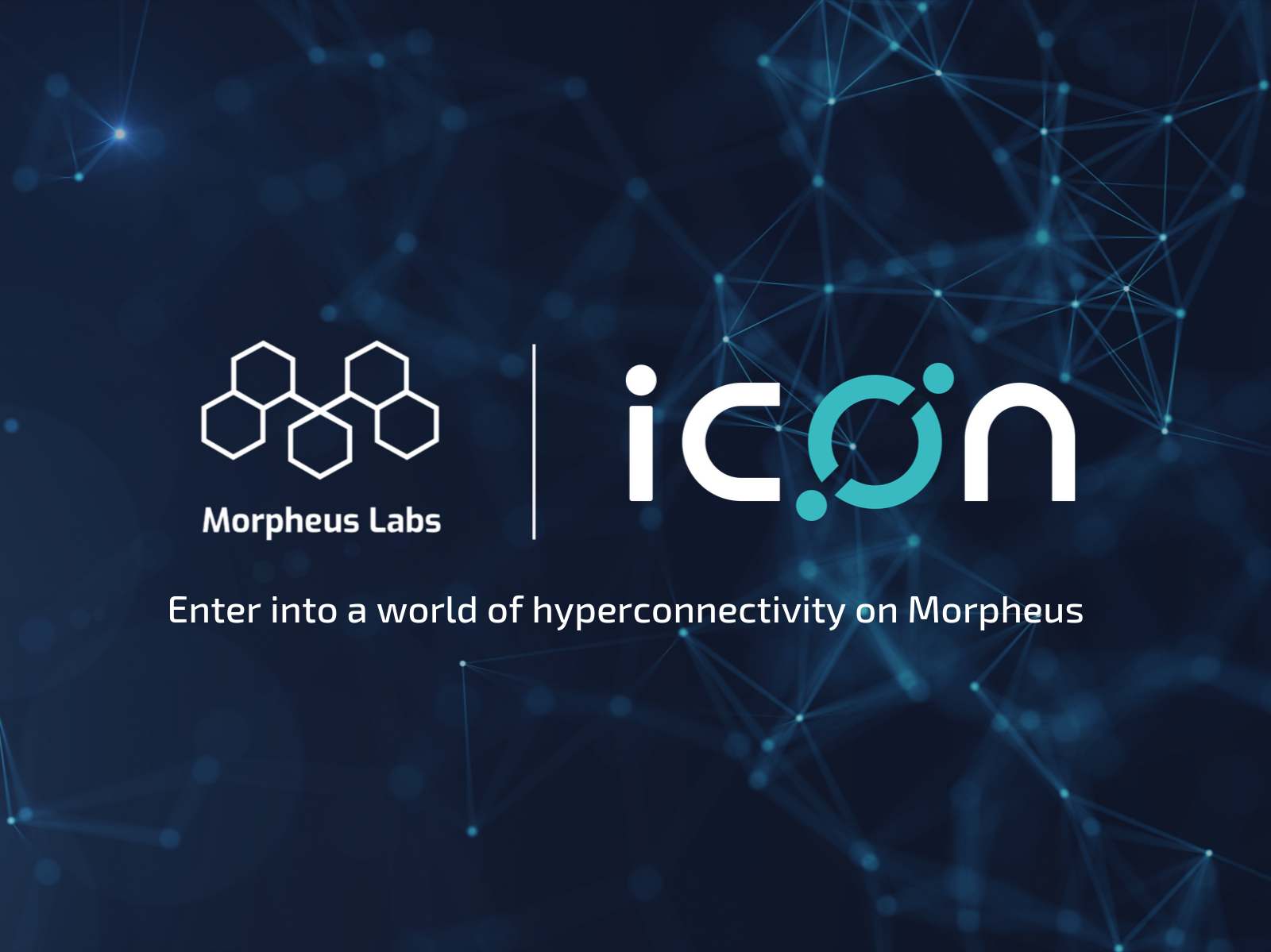 Morpheus Labs onboard ICON — Entering Into a World of True Hyperconnectivity