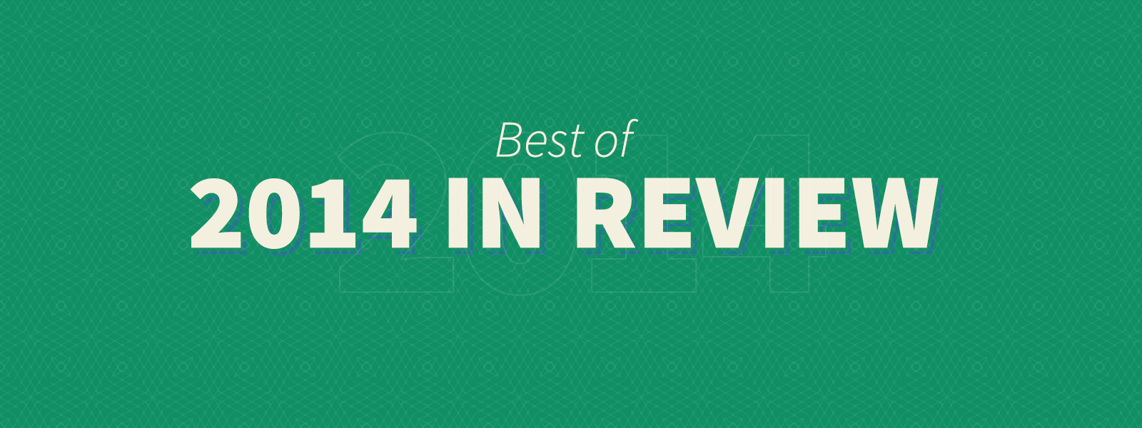 The 10 coolest 2014 year-in-review sites - The Iconfinder Blog