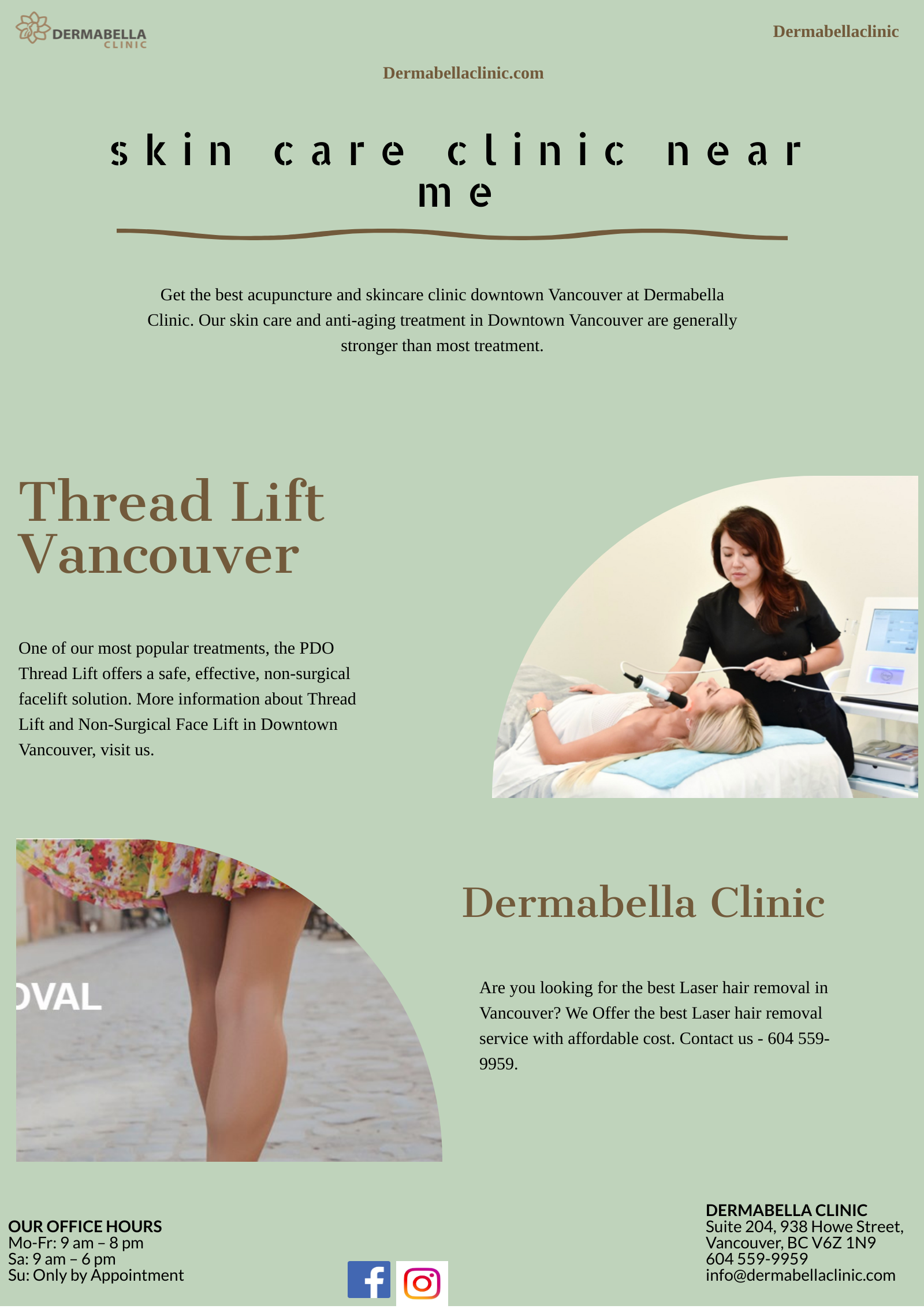 The Best Laser Hair Removal In Vancouver Dermabella Clinic By Kristyhoney Medium