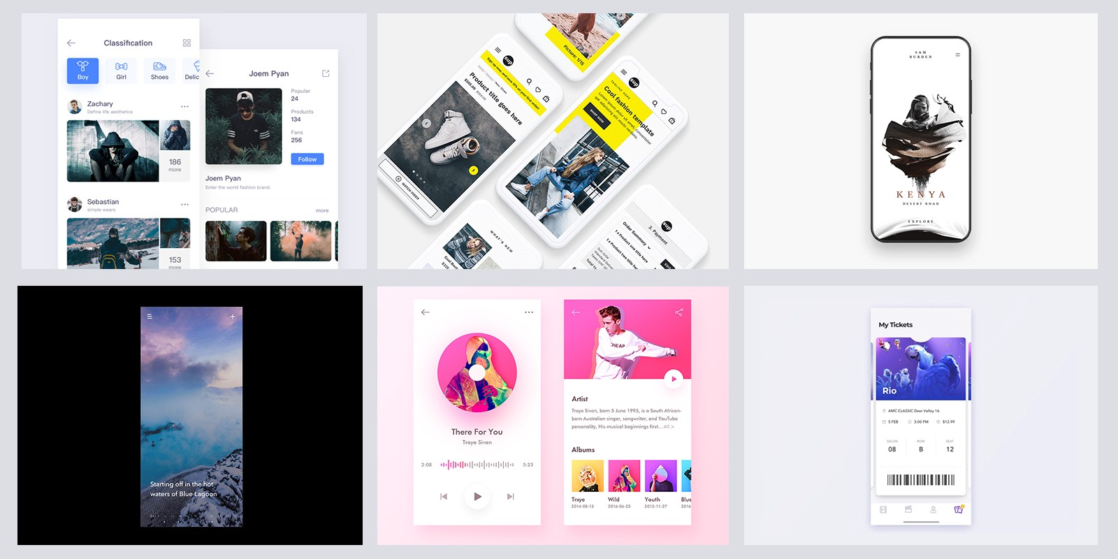 Cool Ideas Of Mobile Ui Inspiration By Premiumuikits Muzli Design Inspiration
