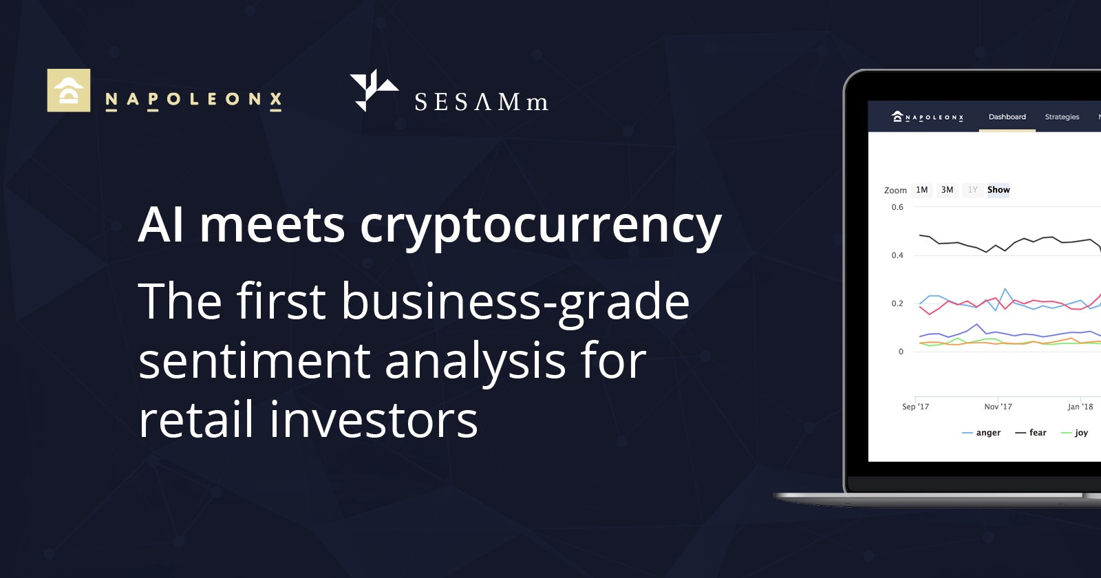 AI meets cryptocurrency: the first business-grade sentiment