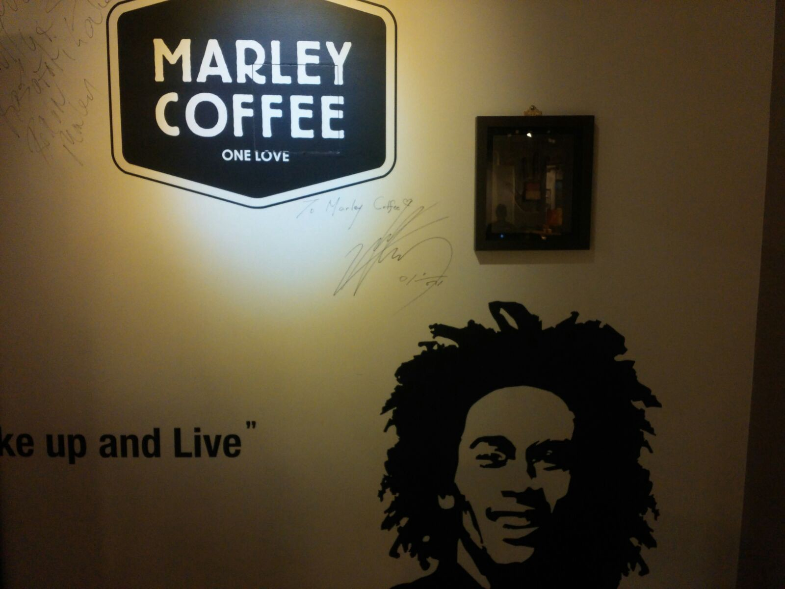 As I Listened To Bob Marley Tunes At A Coffee Shop In Seoul