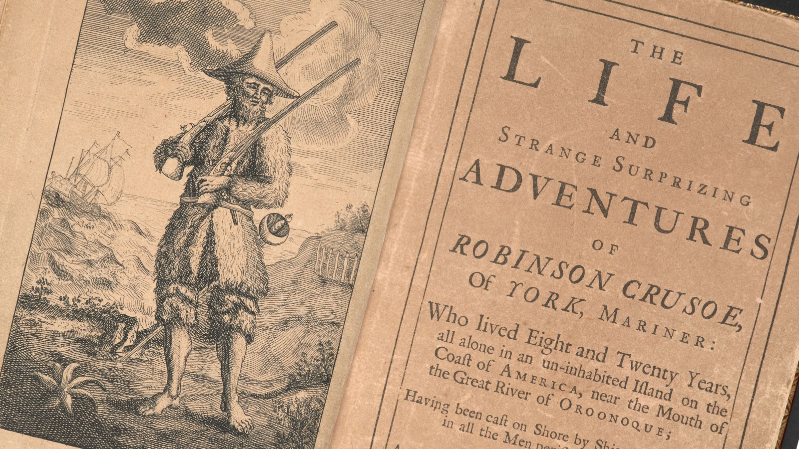 The English novel was born with 'Robinson Crusoe' 300 years