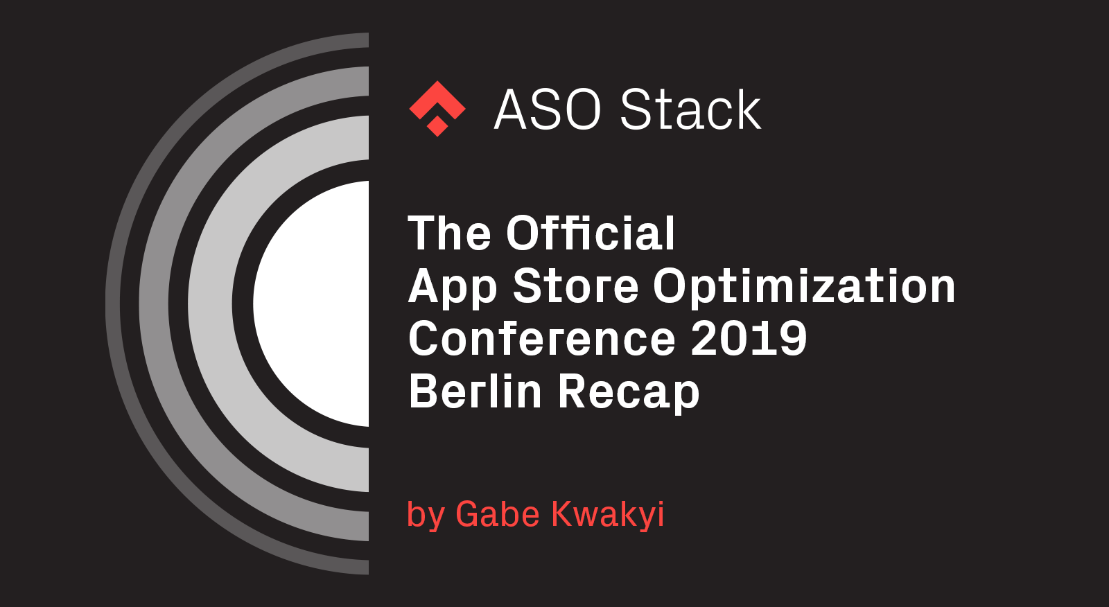The Official App Store Optimization Conference 2019 Berlin