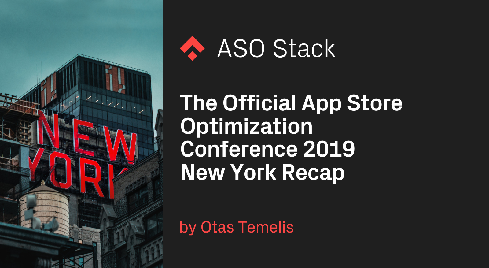 The Official App Store Optimization Conference 2019 New York