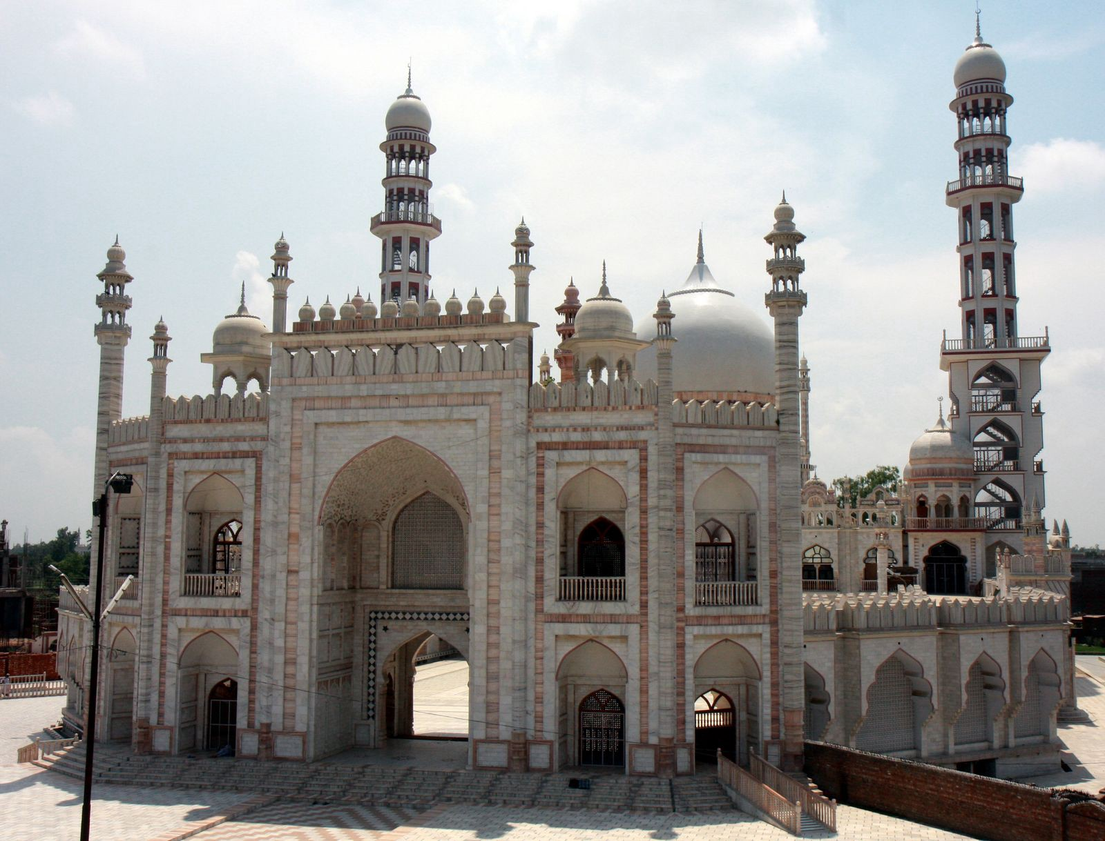 A mosque in Deoband, a Muslim religious centre in the state of Uttar Pradesh.
