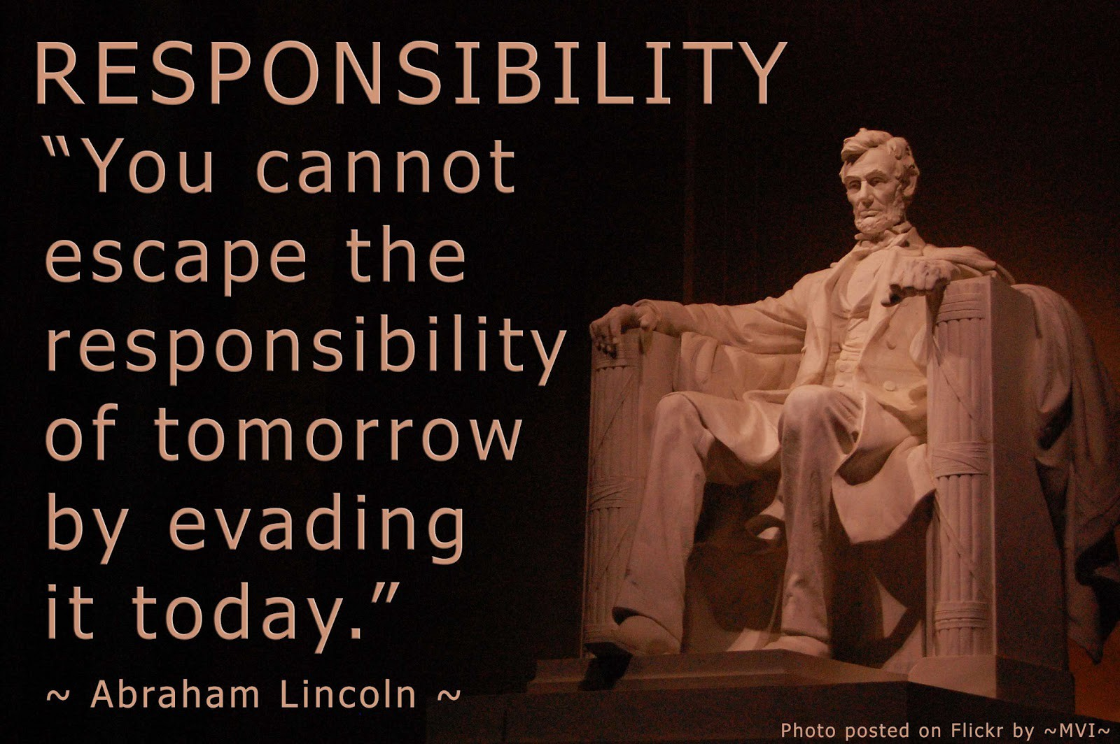 Take responsibility and learn no matter what Tales od