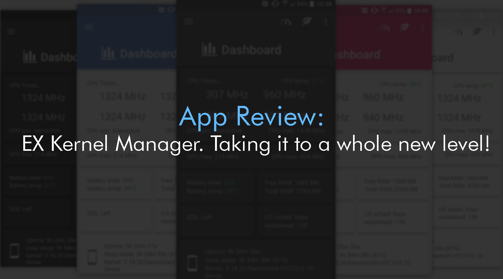 App Reviews: ElementalX  Custom kernel for Android devices