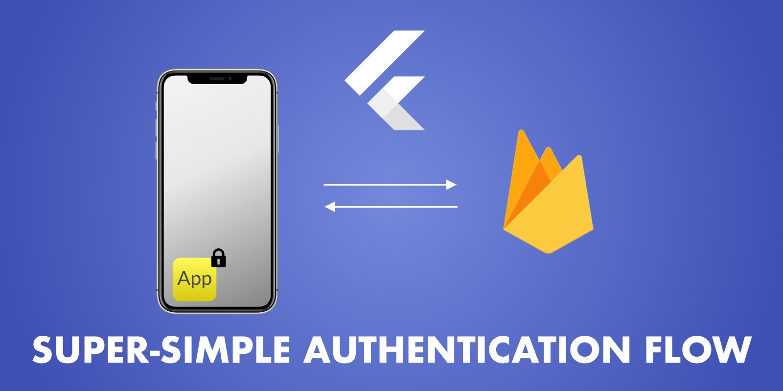 Super Simple Authentication Flow with Flutter & Firebase