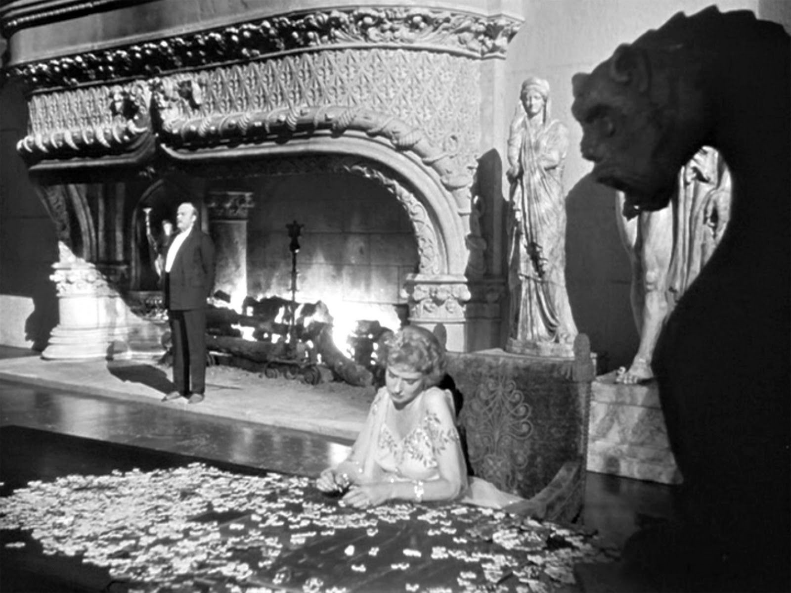 10 Classic Films Featuring Memorable Fireplace Moments By Marie Belsten Medium