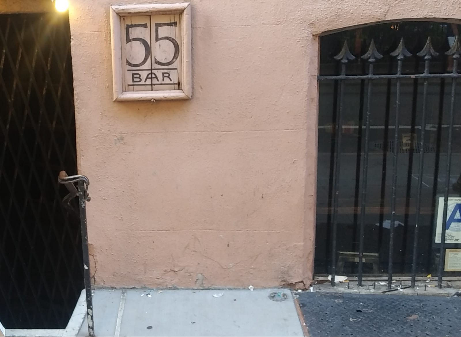 The iconic 55Bar has been closed since the beginning of the pandemic