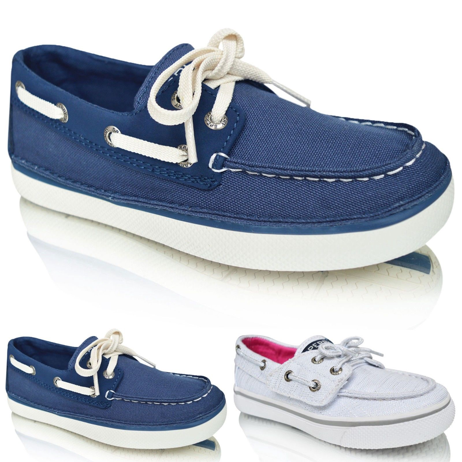 Kids Boys Girls Loafers Casual Sperry