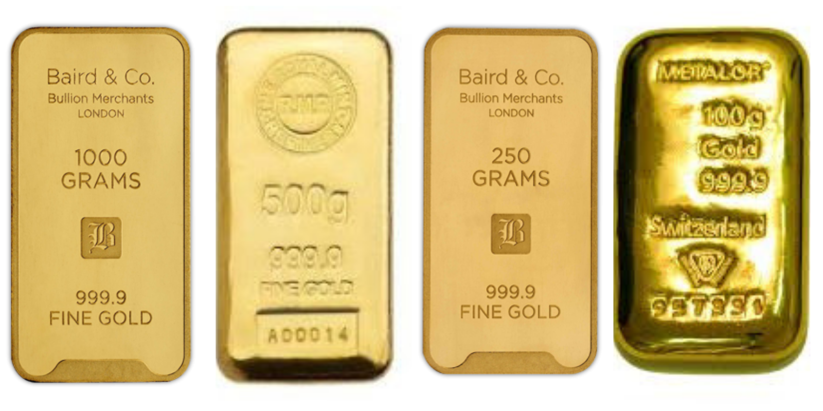 Know Before You Gold Bars