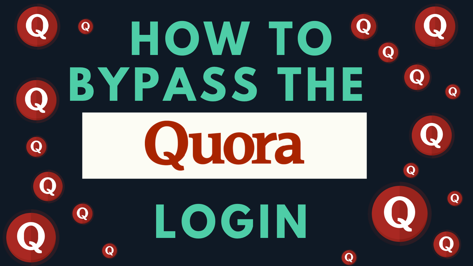 quora login, quora login bypass, quora without login, block quora, quora login annoying, how to open quora, quora login hack