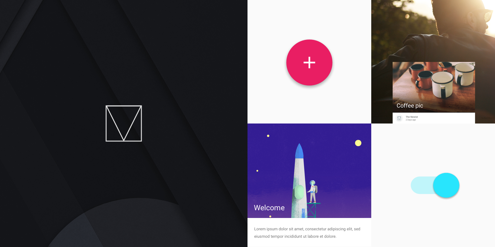 Introducing Material Design Lite - Google Developers - Medium
