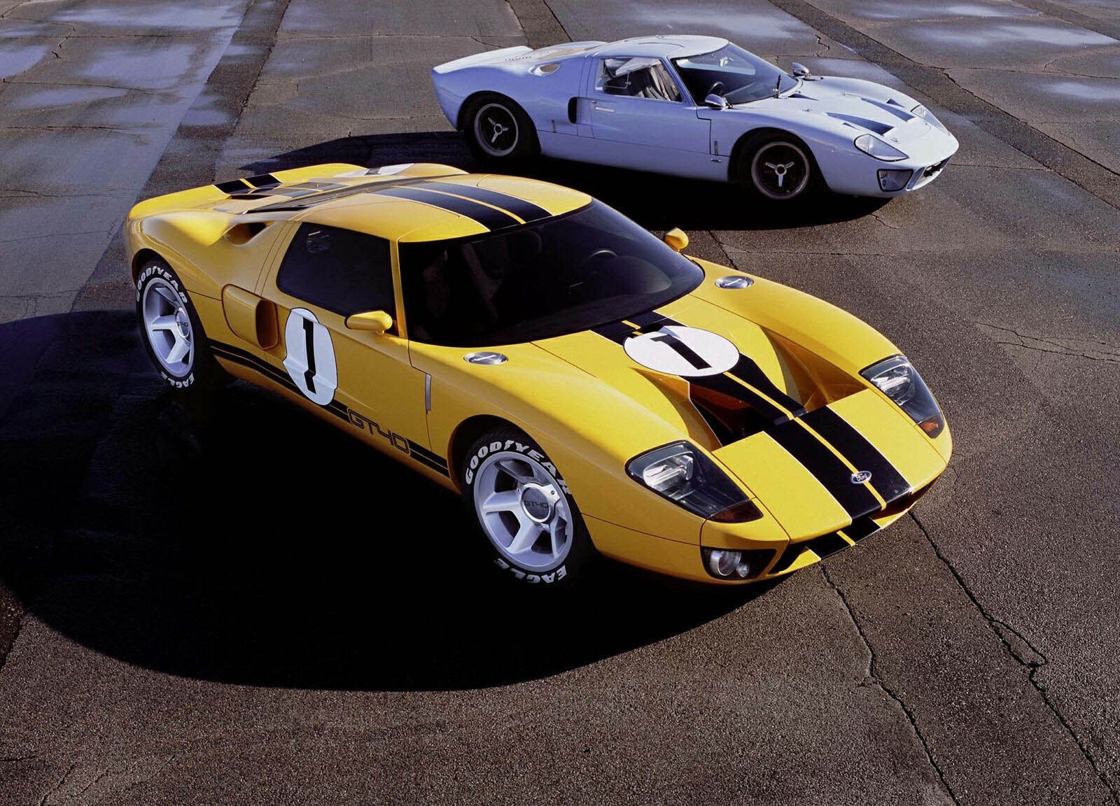 The Best Looking Car Ever Ford Gt40 By Kyle Yetka Medium