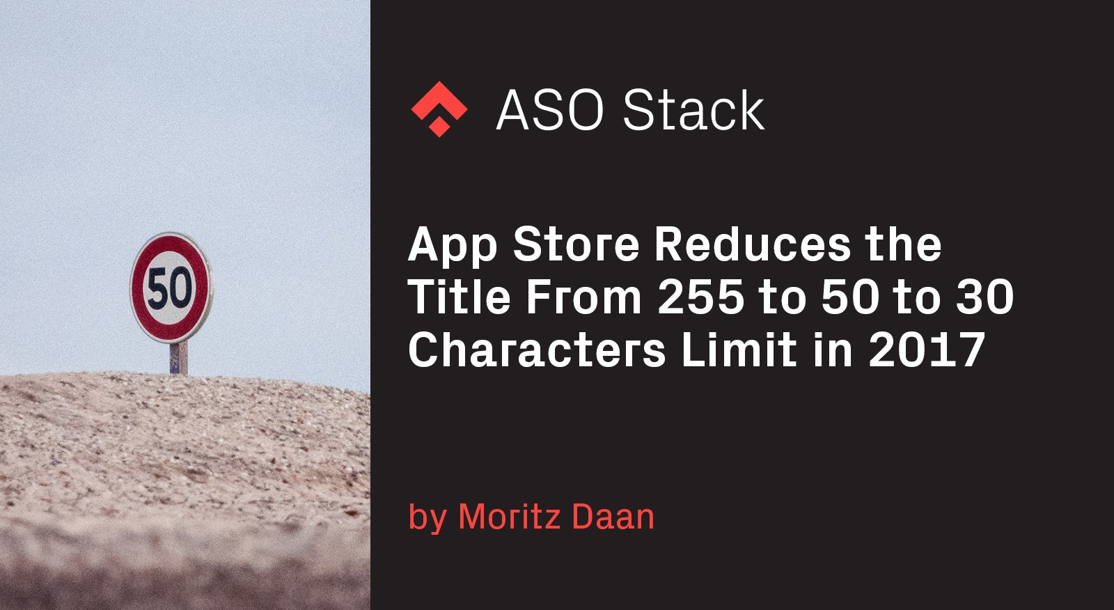 App Store reduces the title from 255 to 50 to 30 characters