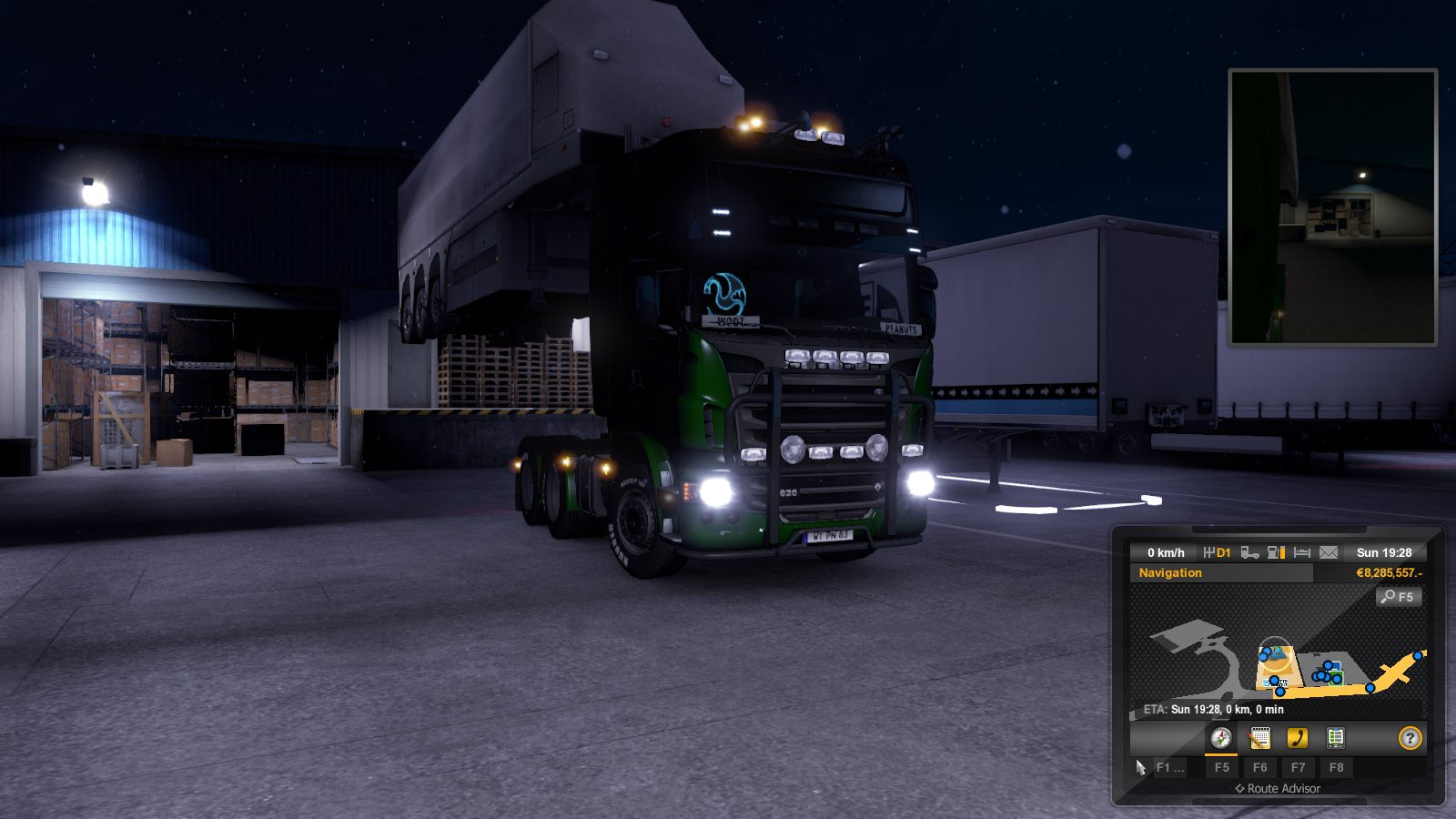 Euro Truck Simulator 2 — Digital driving lessons