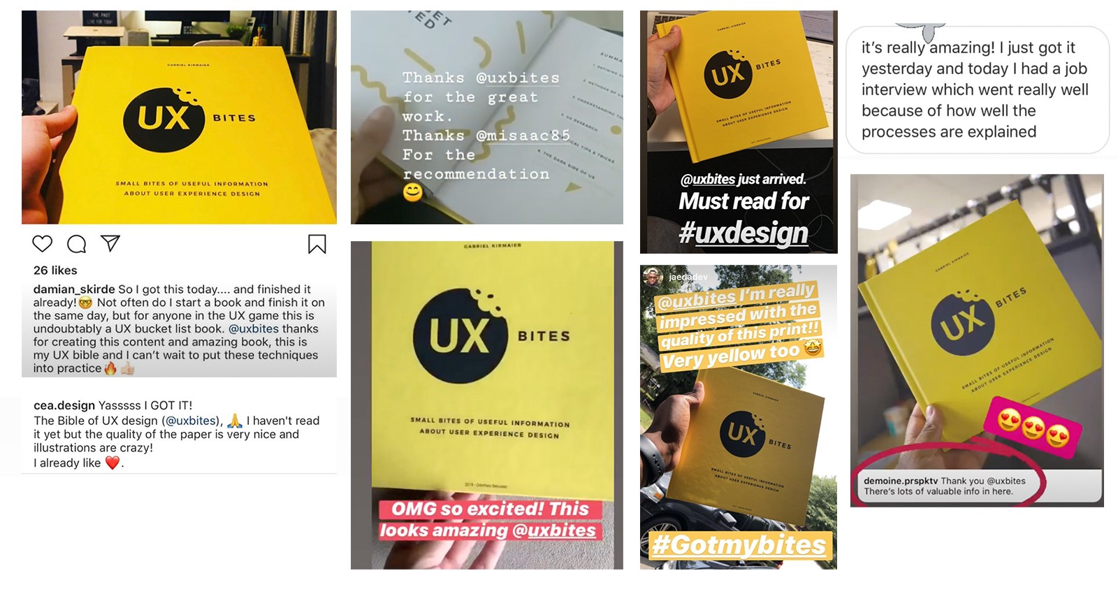 How I Released A Ux Design Book A Book About User Experience Design By Ux Bites Noteworthy The Journal Blog