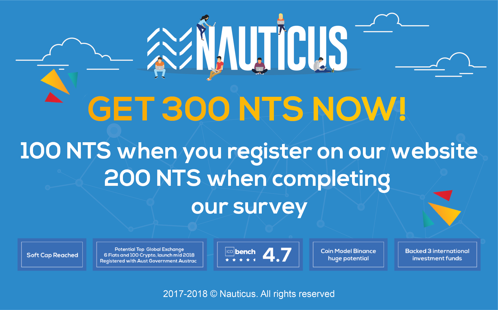 Complete our survey for 200 free NTS! - Nauticus blockchain