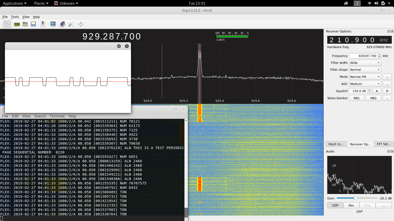 A newbie's guide to Software Defined Radios on Kali Linux