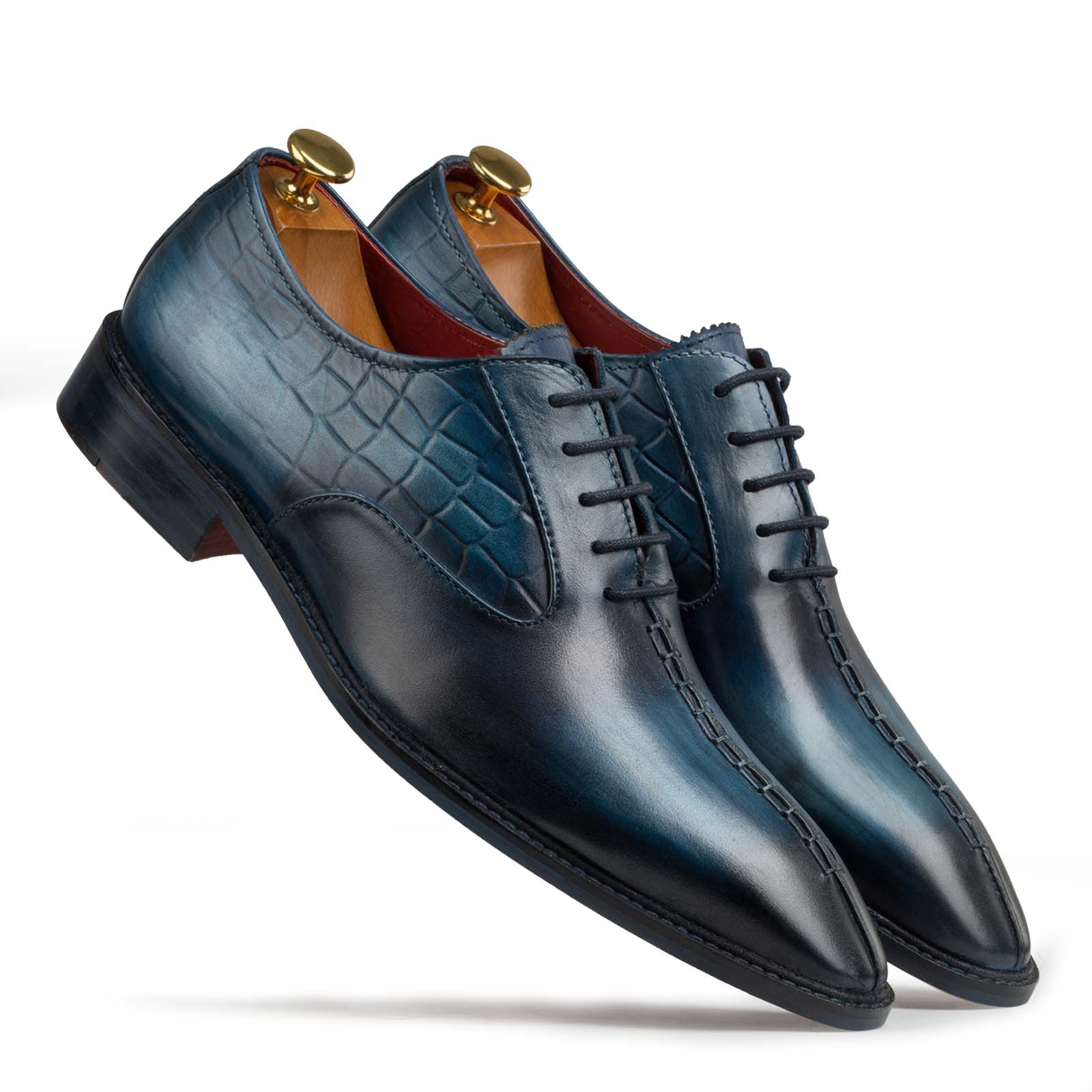 Formal Leather Shoes For Men's. Escaro