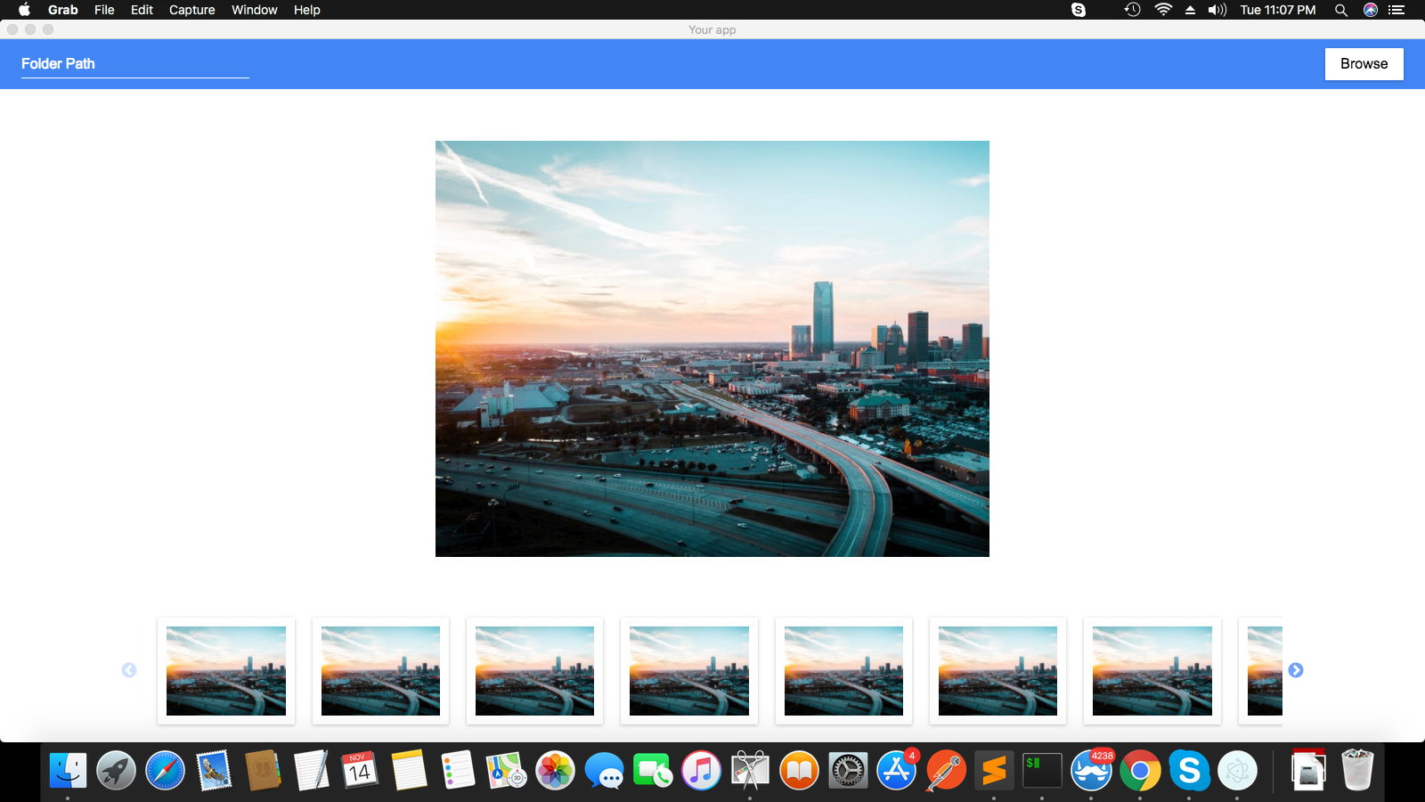 Get started with Electron & React by building a Photo Viewer