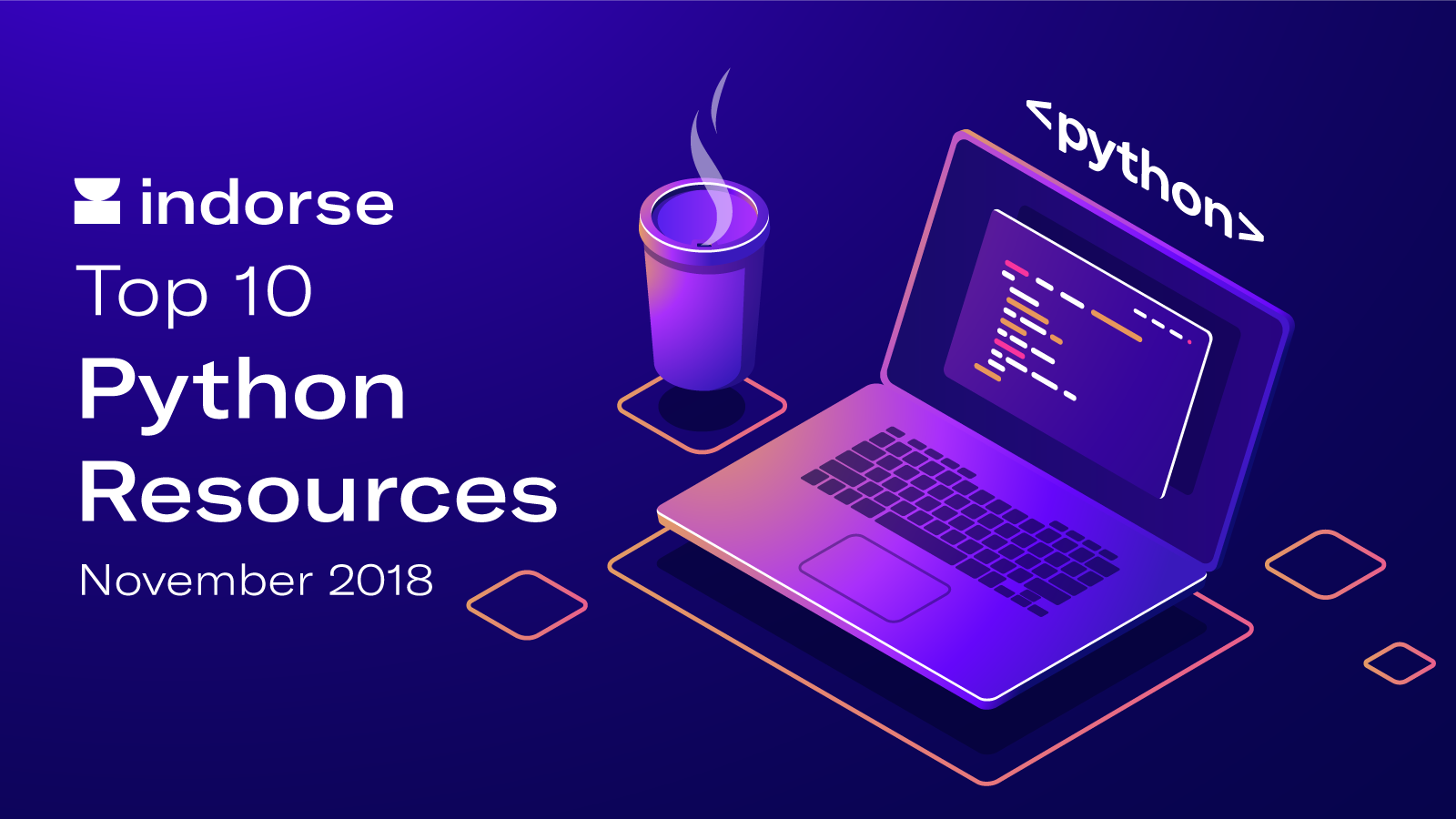 Top 10 Python Resources, November 2018 - Indorse