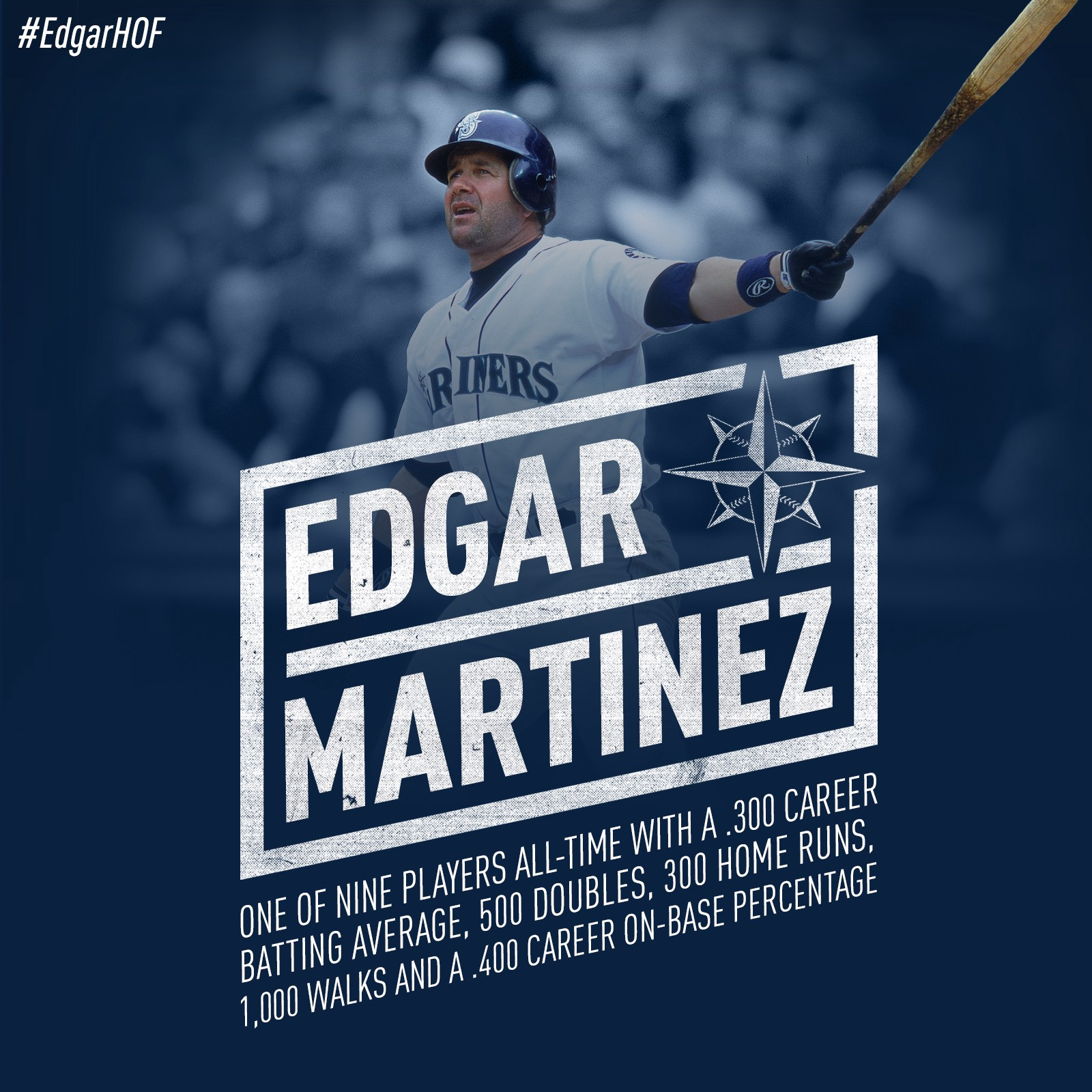Hall Of A Player Edgar Martinez S Hall Of Fame Candidacy