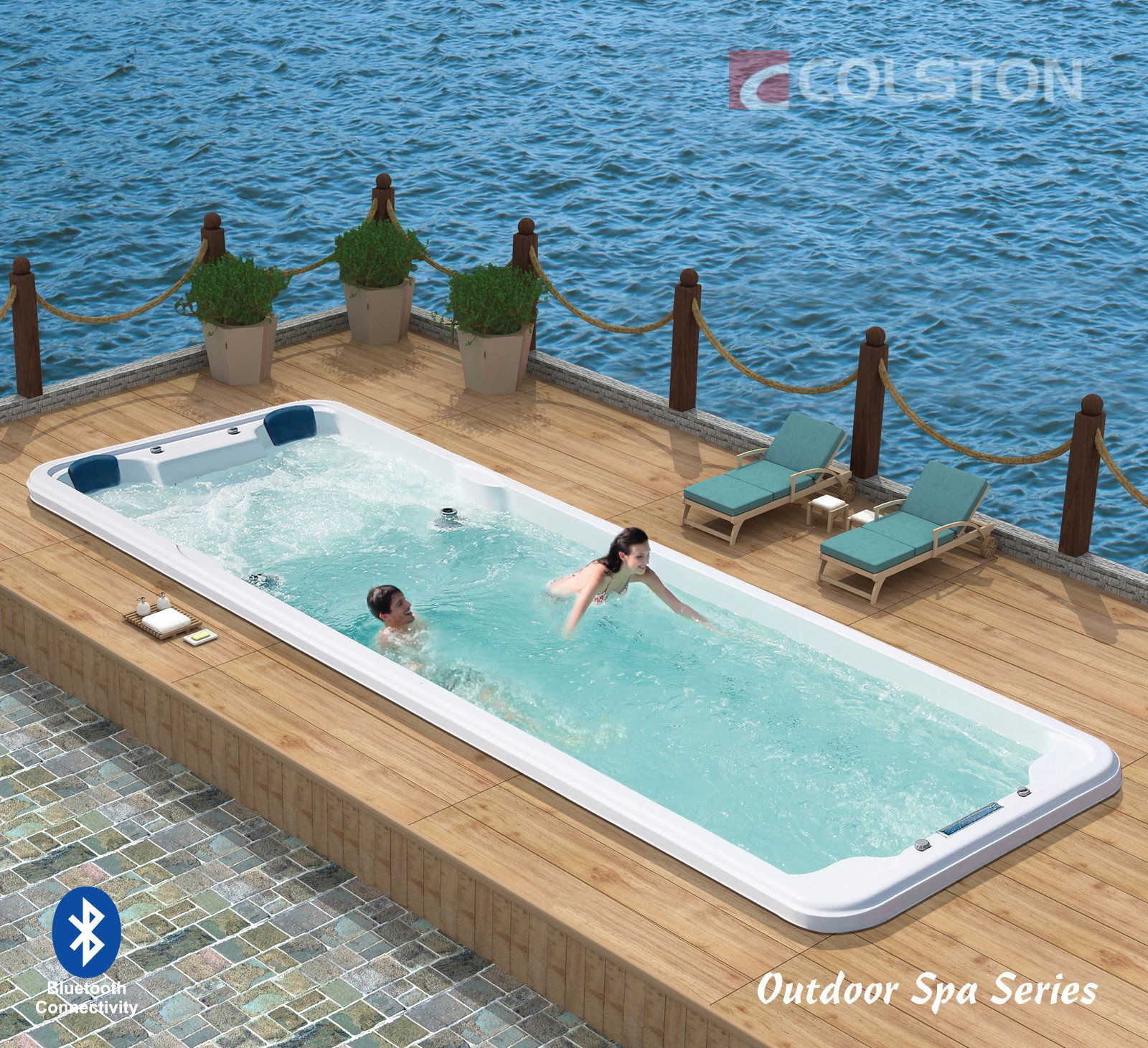 Luxury Outdoor Pool And Spa Manufacturers Brands Jacuzzi Pool And Hot Tubs Brands By Luxury Bathrooms Medium
