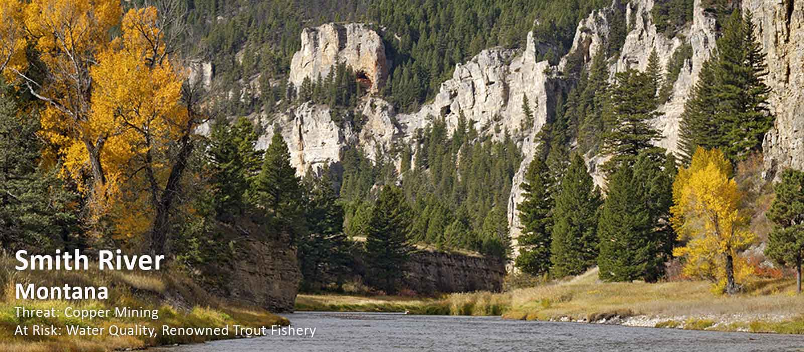 Smith River, Montana - Americas Most Endangered Rivers for