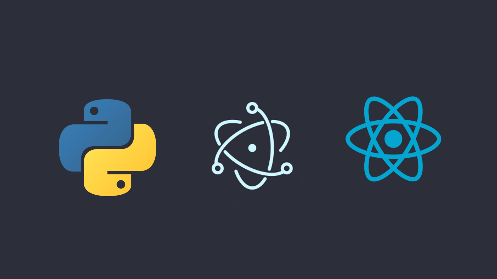 Electron + React + Python (Part 1) — Introduction - Heuristics - Medium