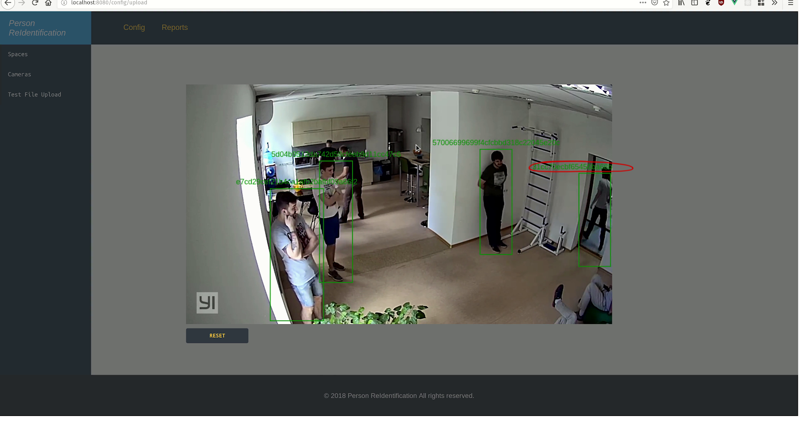 Multiple Object Tracking using Person Re-identification