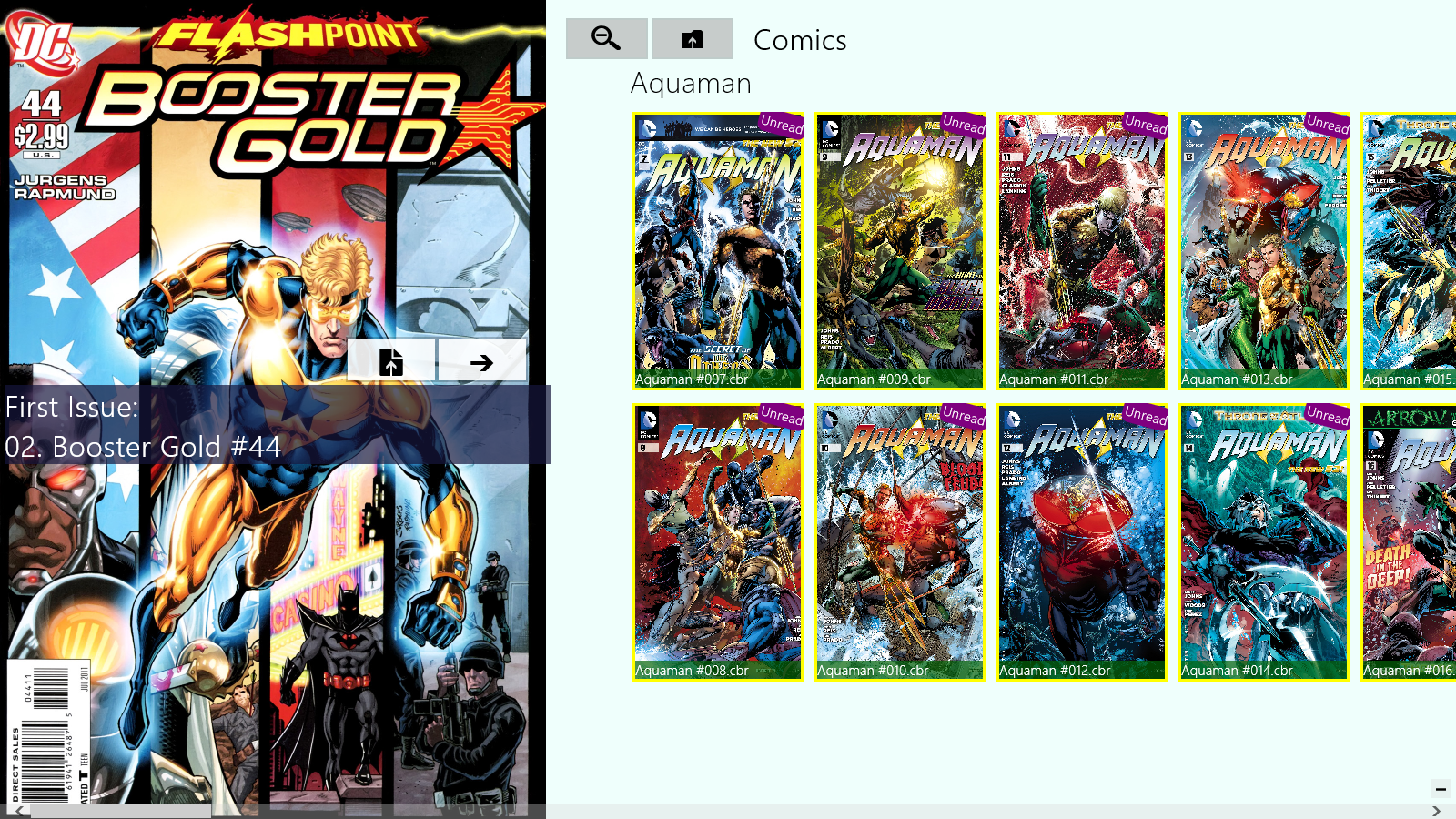 Reading Comics on the Surface, Windows 8 and Windows Phone