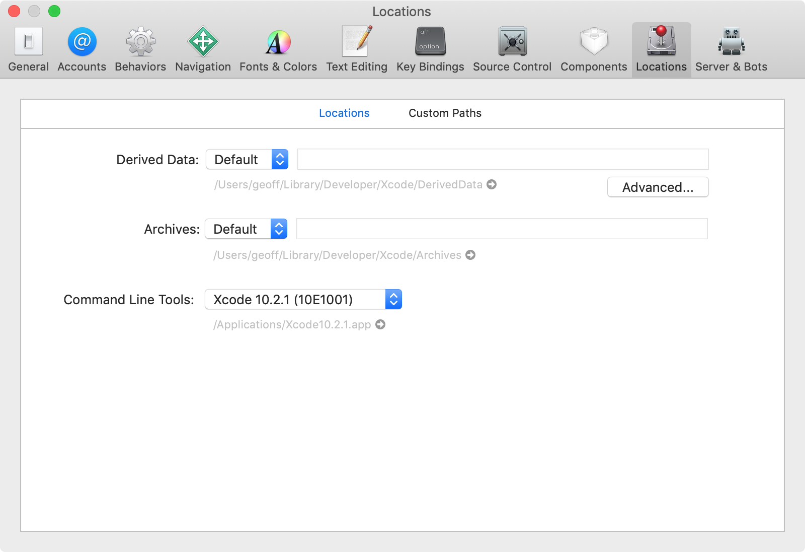 Working with Multiple Versions of Xcode - Geoff Hackworth