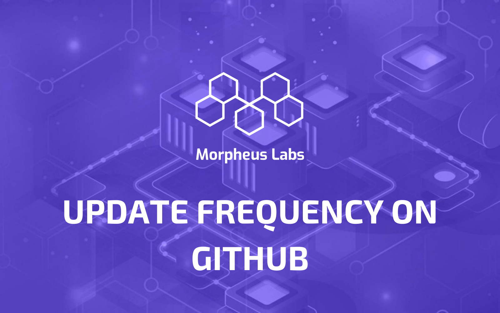 Morpheus Labs' Update Frequency on Github