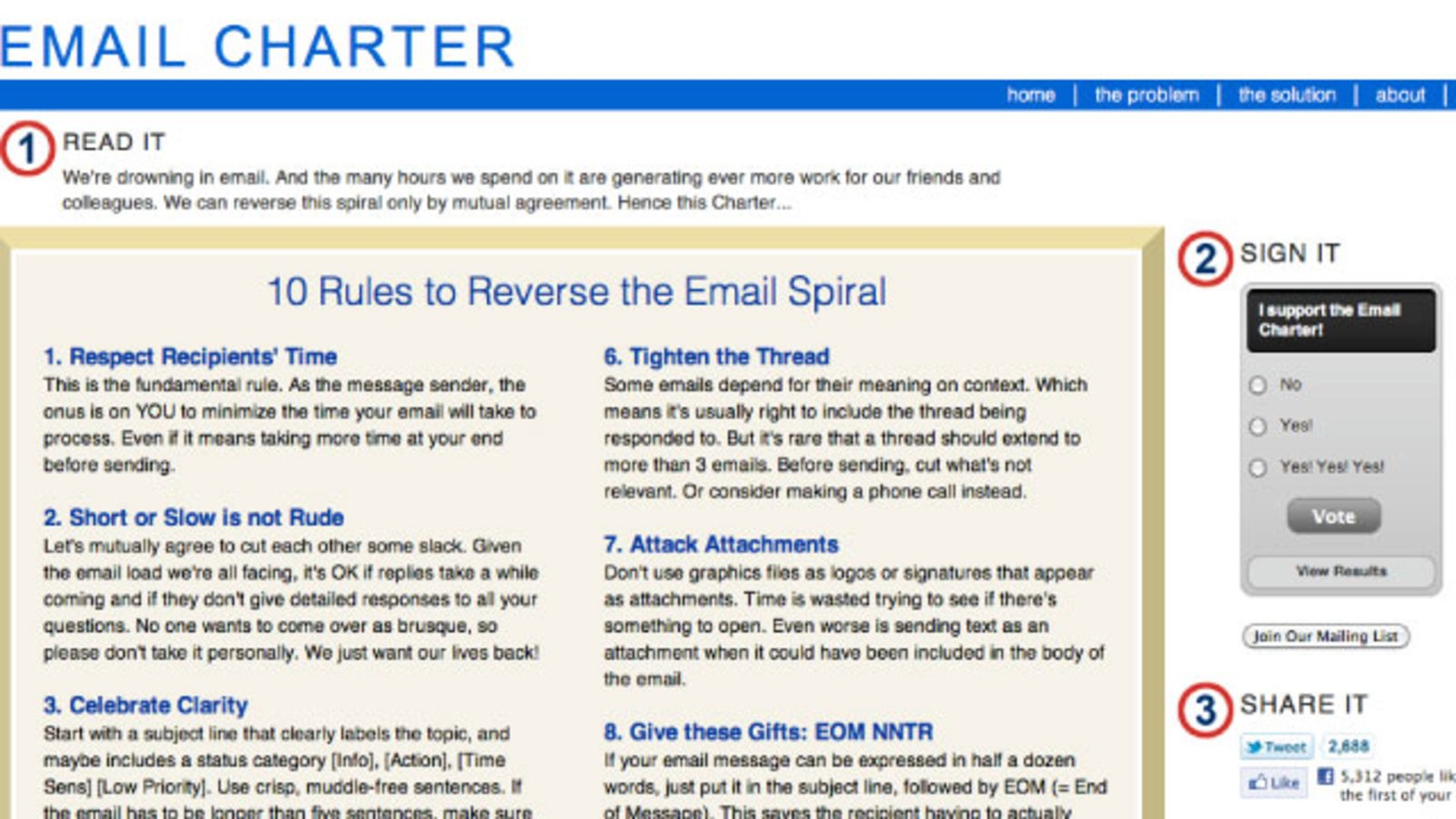 The Email Charter: an idea worth spreading - Virtual Teams