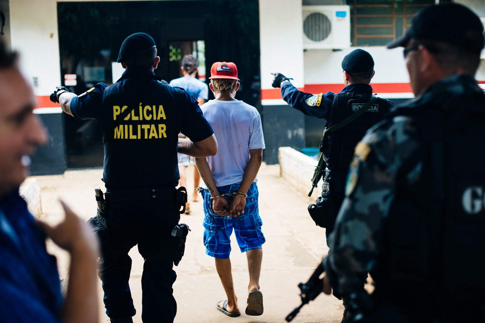 A man is arrested in Brazil