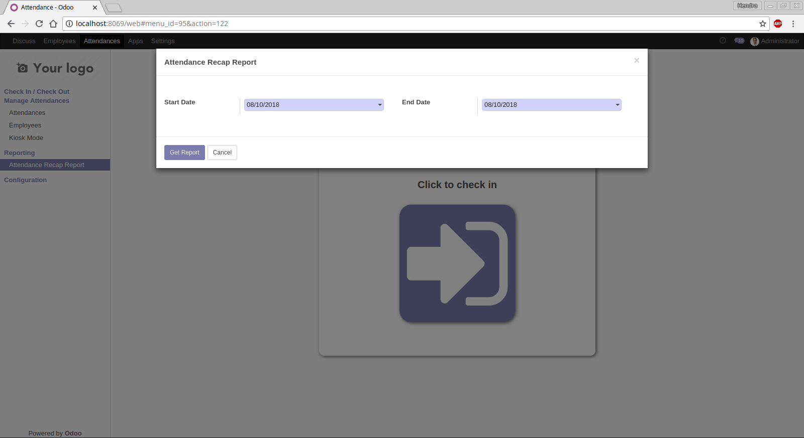 How to create custom report on Odoo 11  - Hendra Juice - Medium