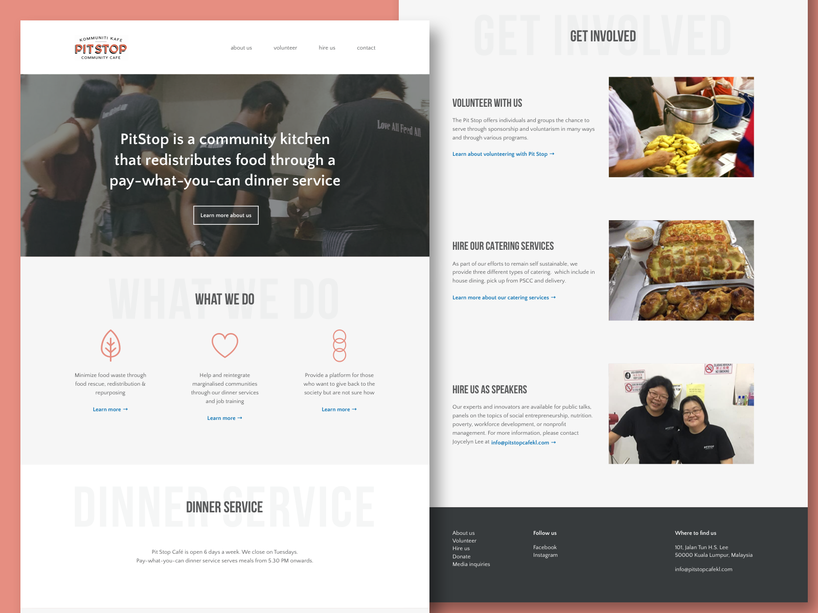 Community Kitchen Landing Page—A UX Case Study - UX Collective