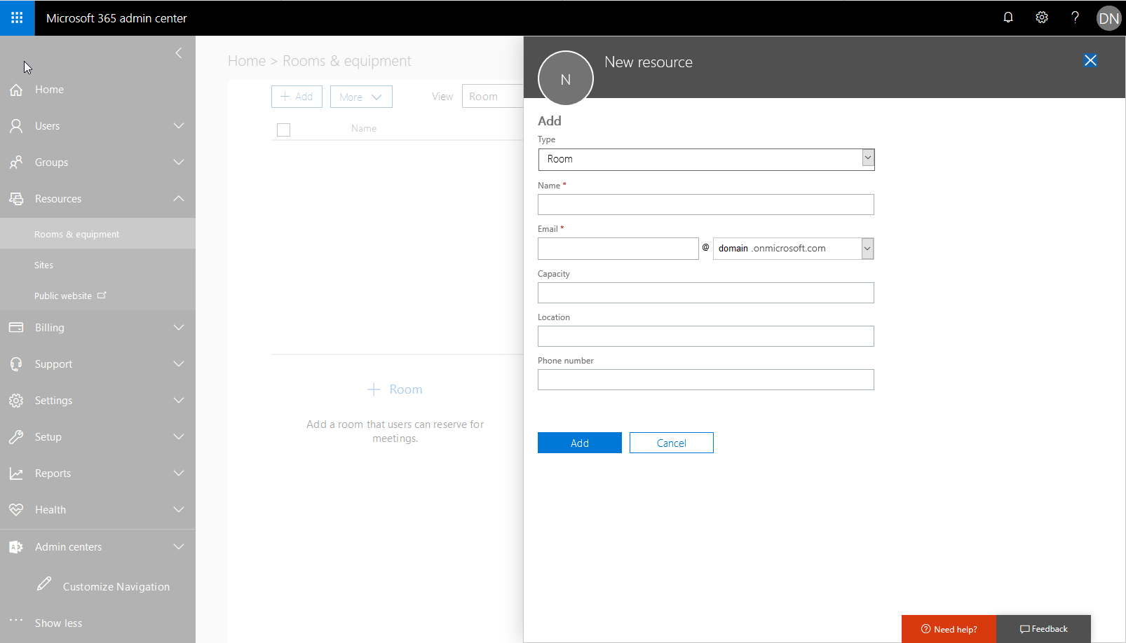 How to Add a Meeting Room to Outlook or Office 365 [Free]
