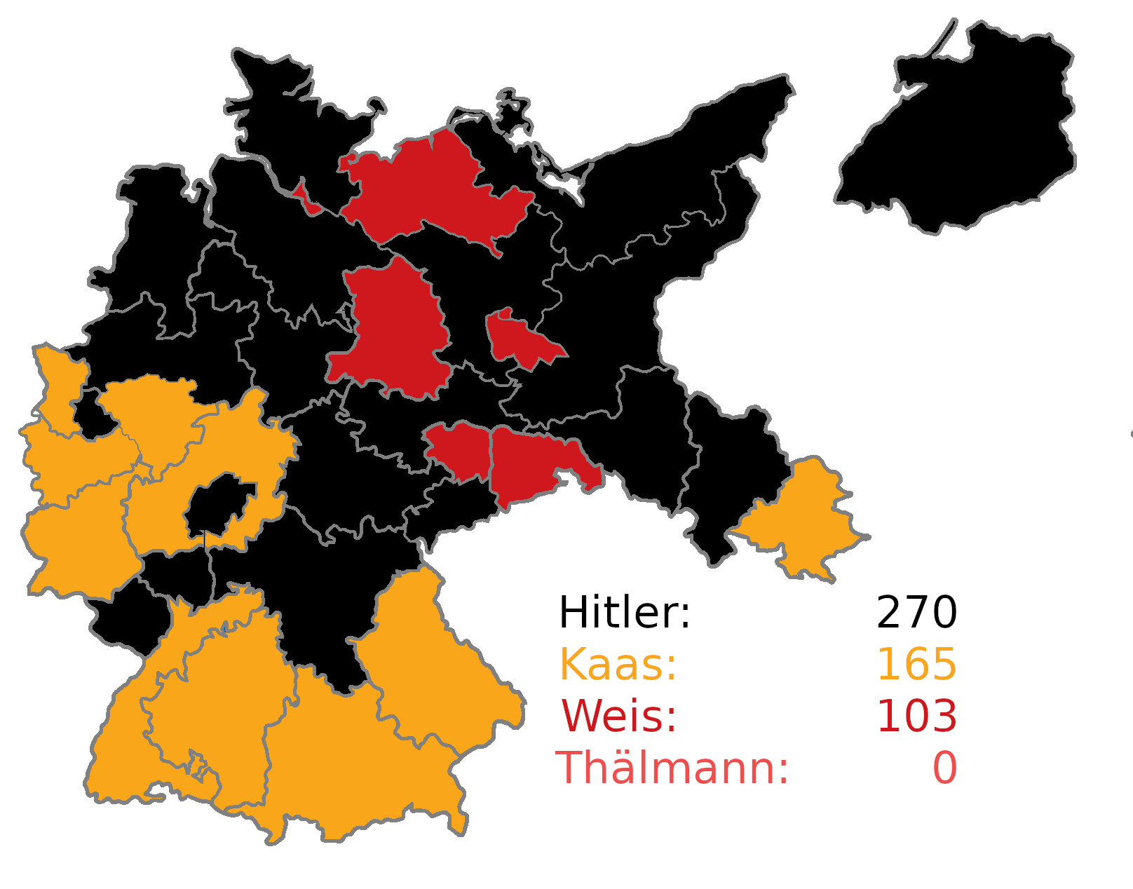 Alternate history scenarios: A Weimar Republic Electoral College