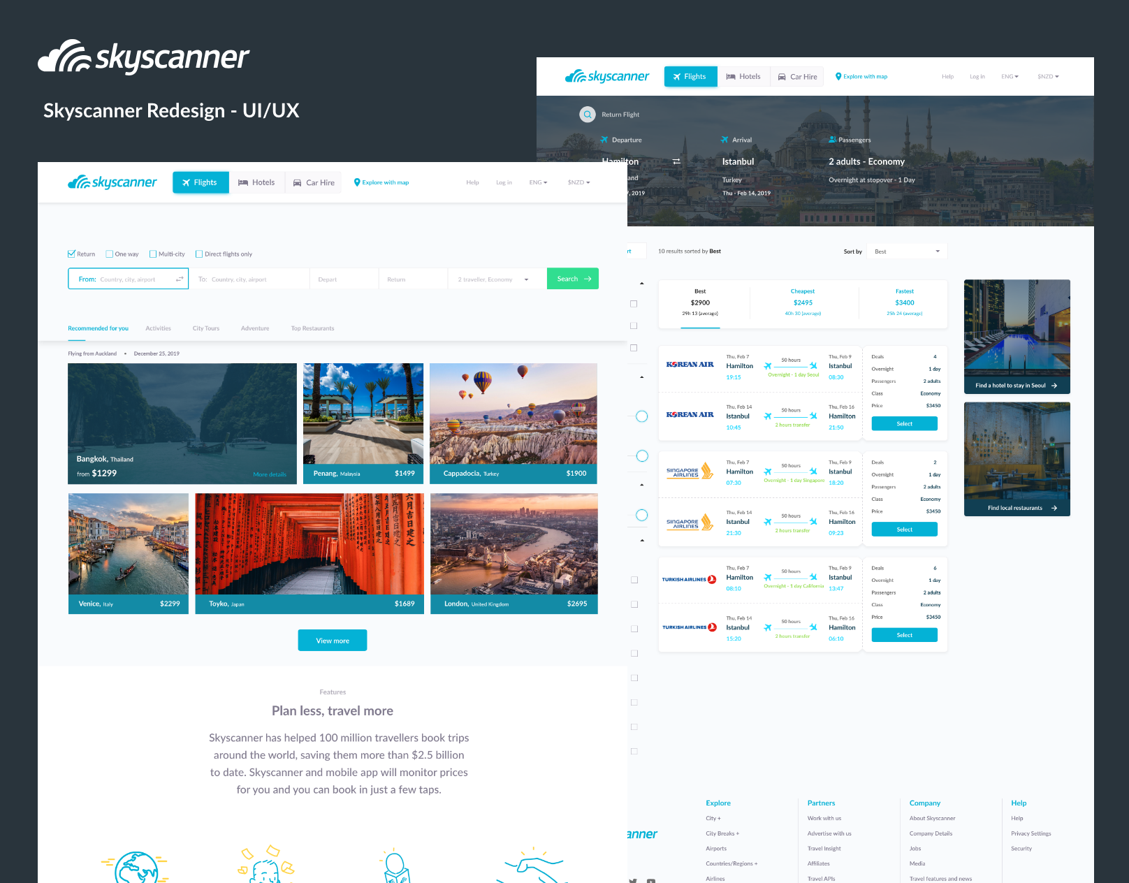 Case Study Ui Ux Skyscanner Redesign By Aaron Ooi Noteworthy The Journal Blog