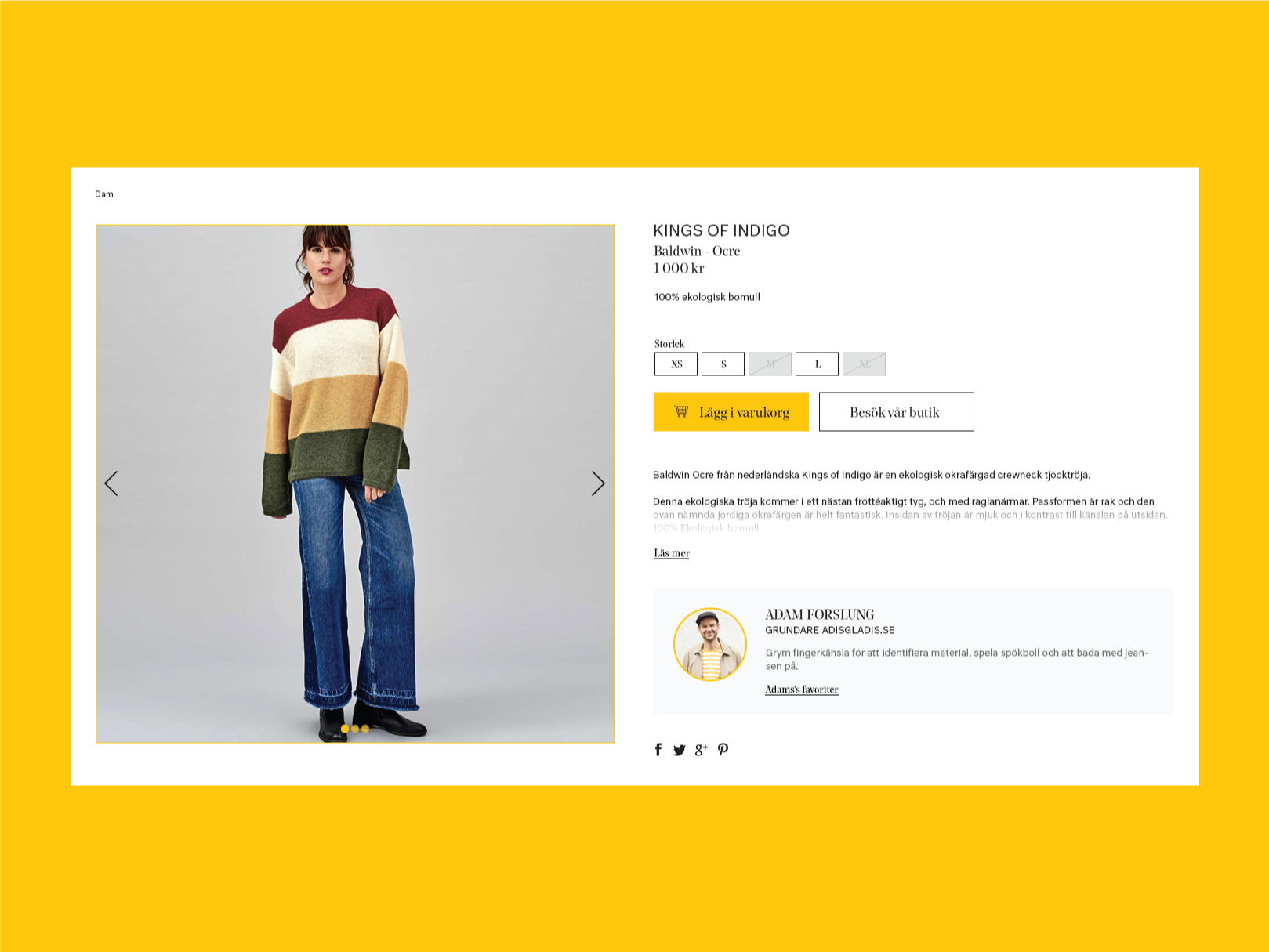Shopping ethical and sustainable products online — a UX case