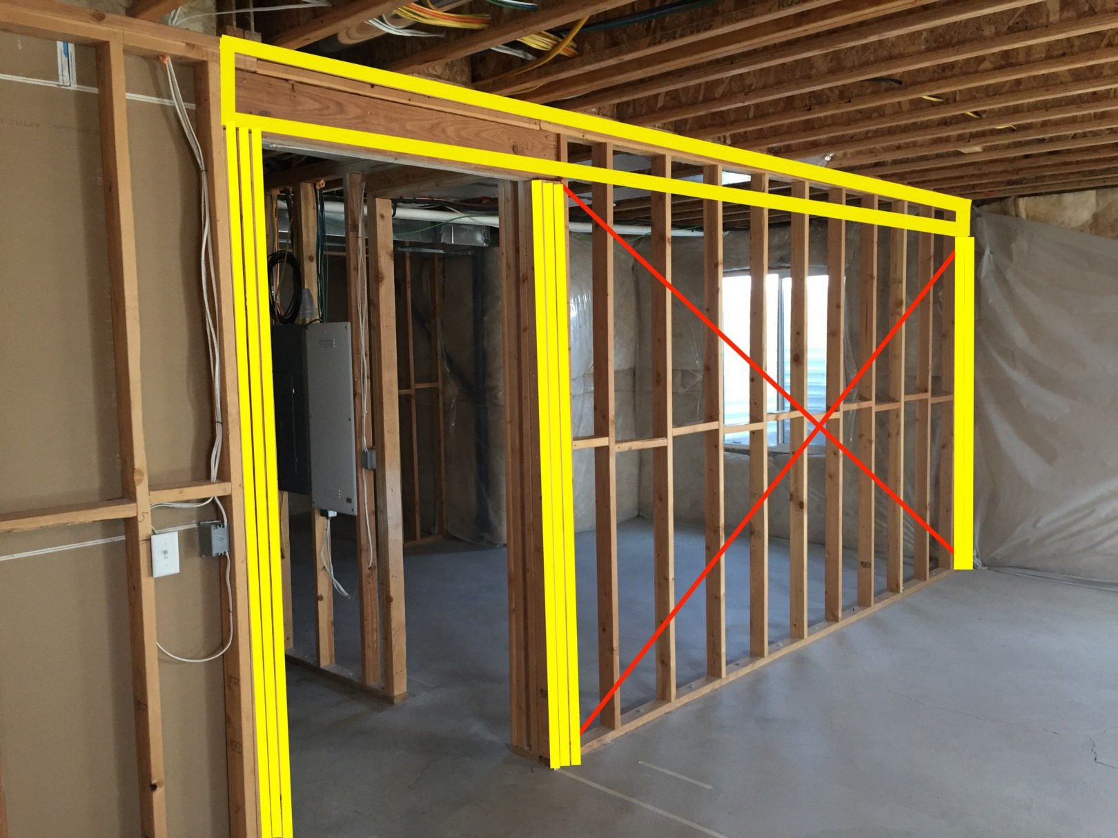 Moving load bearing walls (or can I?) - Alexander Jenkins